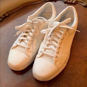 Zara Man white sneakers - size 44